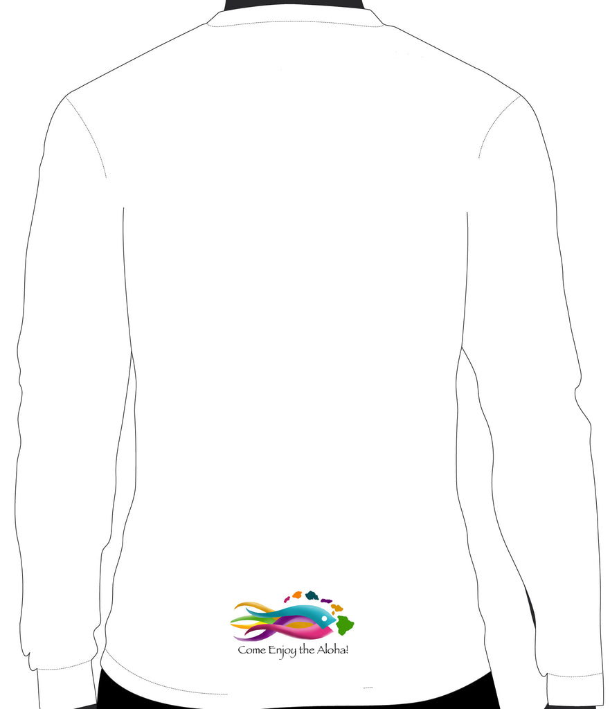 Rainbow Tuna Center on Shirt