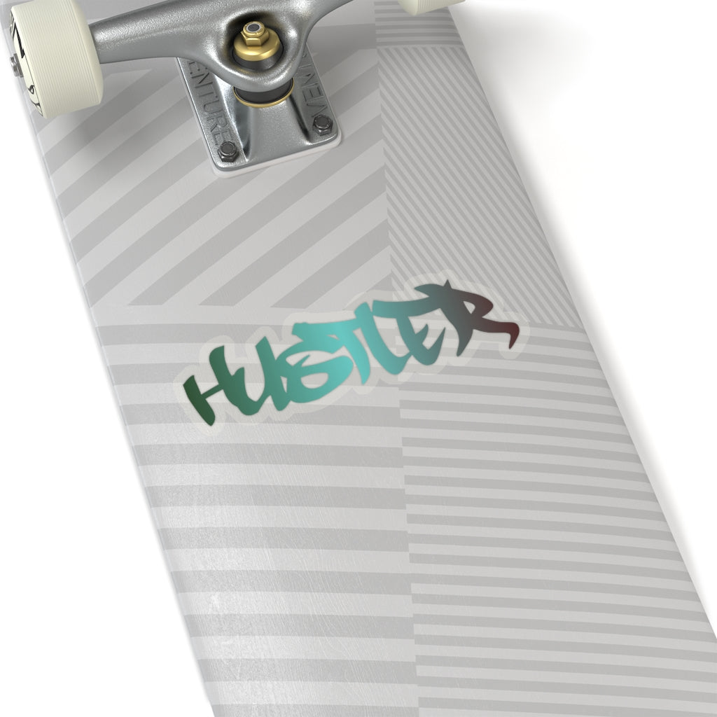Kiss-Cut Multi 15 Hustler Sticker