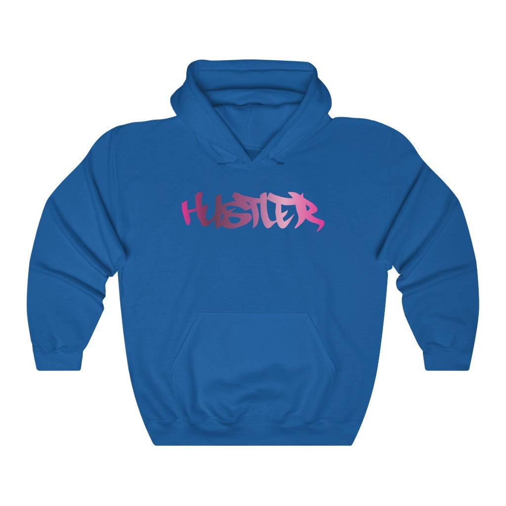 Hustler Relaxed Hoodie Spectrum 16 Front