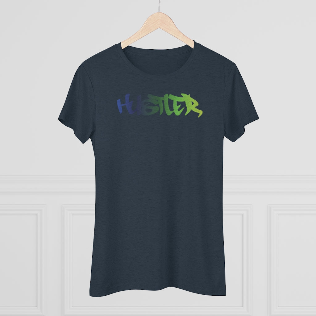 Womens Tee Hustler Multi 25