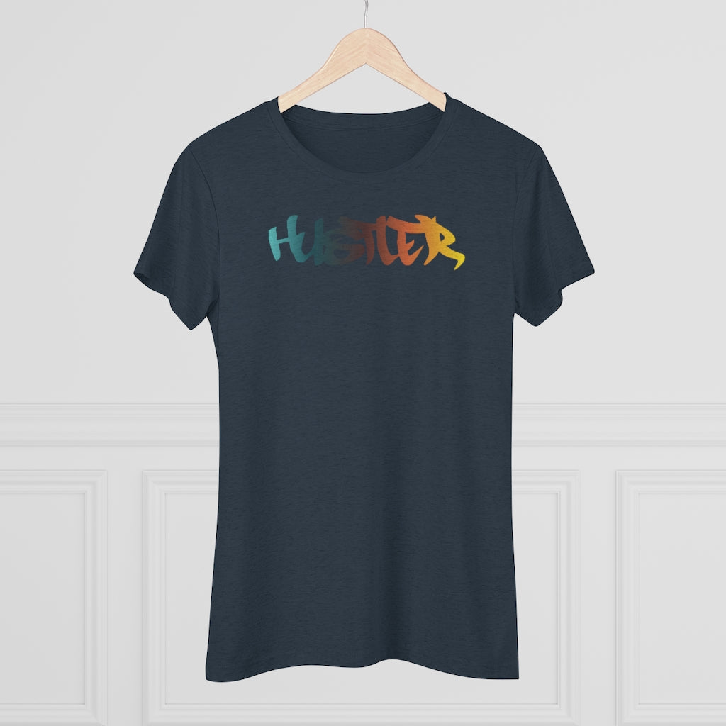 Womens Tee Hustler Multi 29
