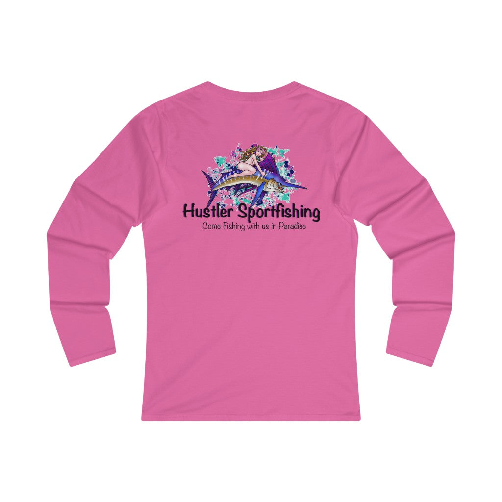 WLS Cotton Marlin Rider Blue Splash