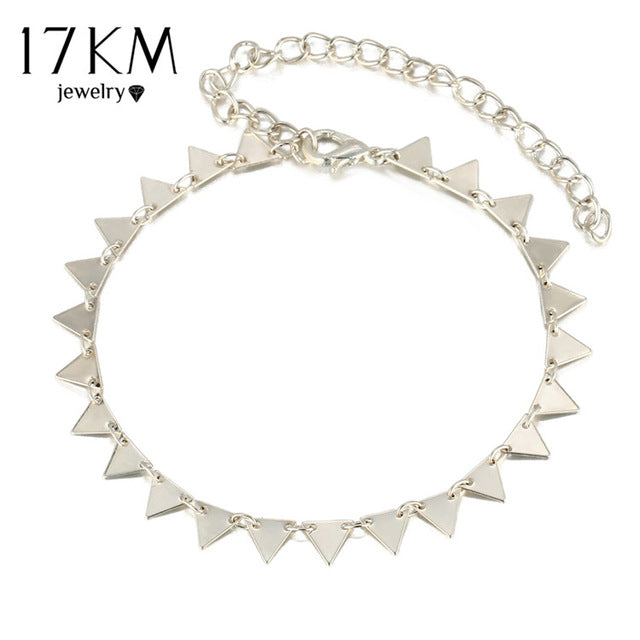 New Triangle Geometry Anklet