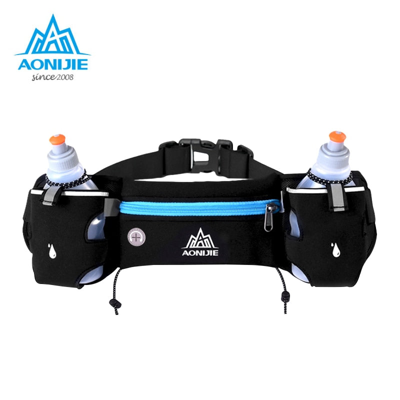 Sports Hydration Belt with Bottle Holders