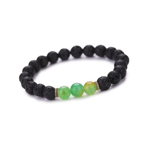 Buddha Elastic Beaded Bracelet (4 Colors)