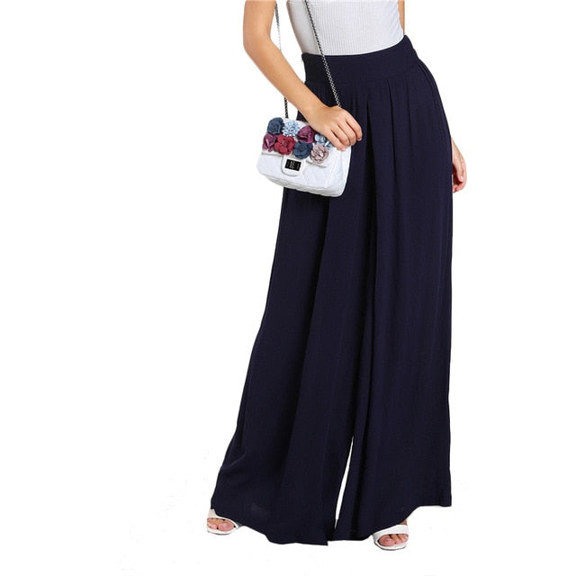Loose Wide Leg Vacation Pants