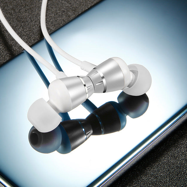 Bluetooth Wireless Earphones With Microphone & Audio Controls