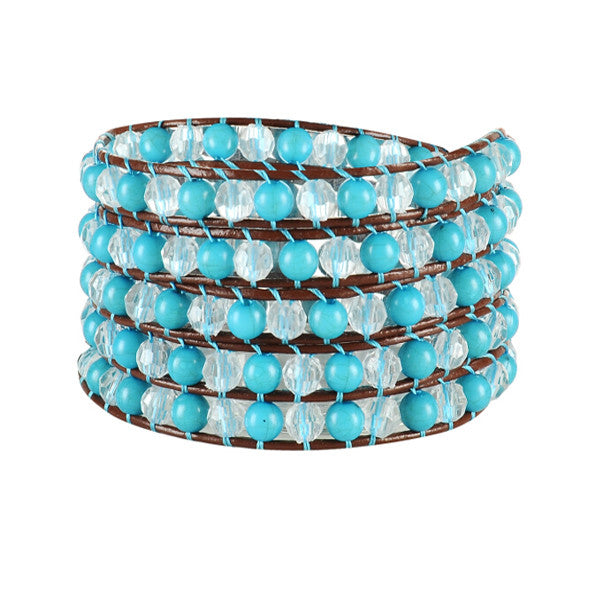 Blue Dragon Wrap Bracelet