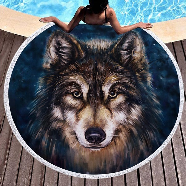Turtle, Wolf or Dreamcatcher Yoga Mats