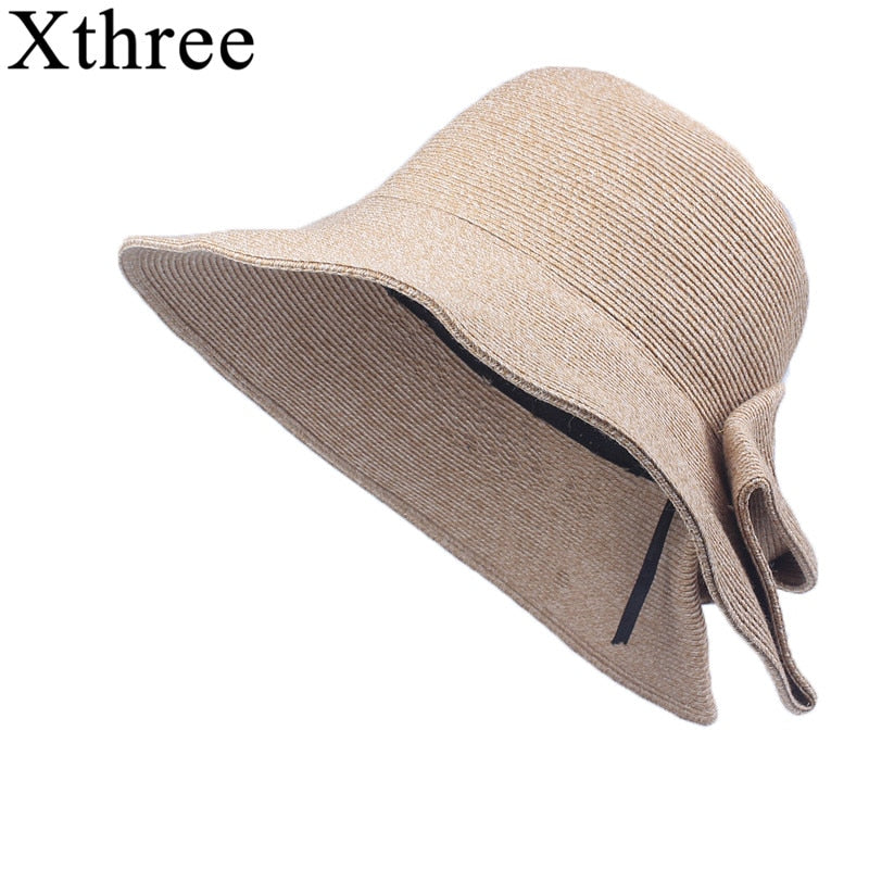 Raffia Long Brim Beach Hat
