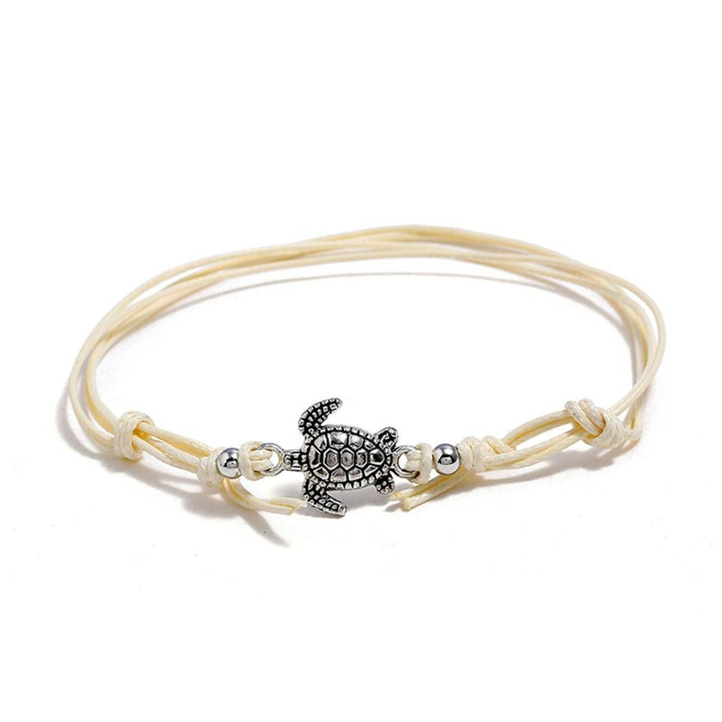 Multilayer Rope with Turtle Drawstring Bracelet