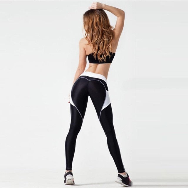 European Breathable Sports Yoga Pants