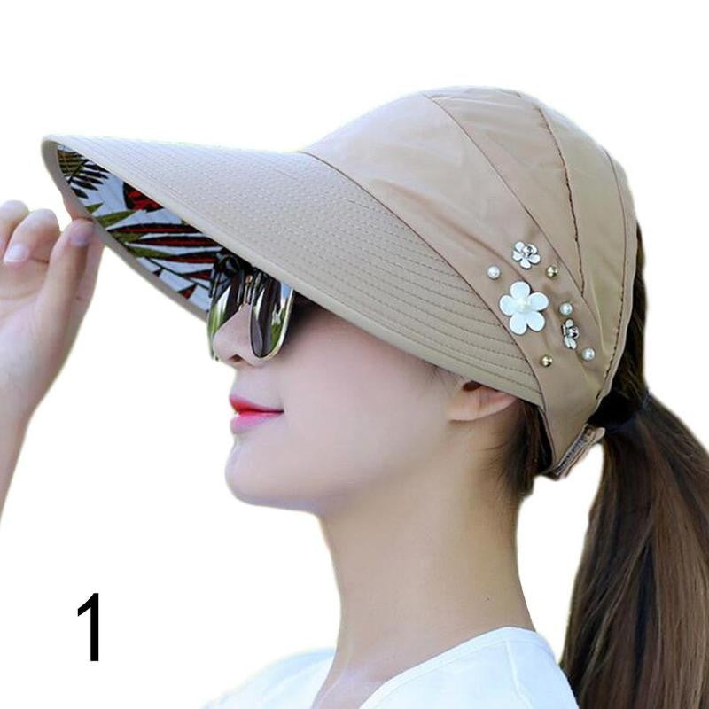 Foldable Wide Brim Sun Hat