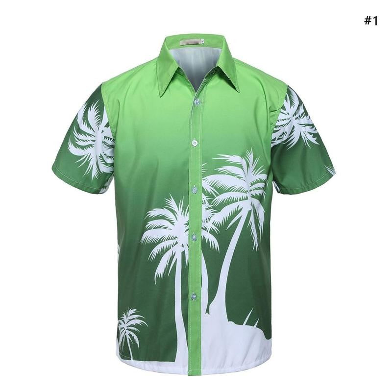 Hawaiian Floral Beach Shirt