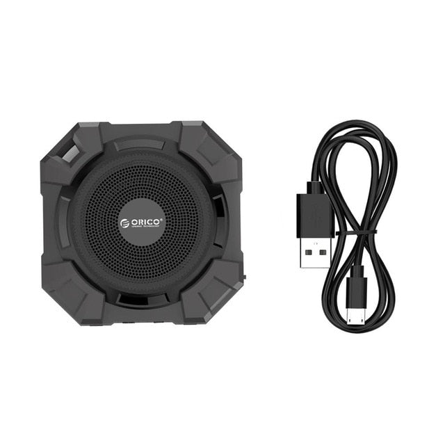 Wireless Shock, Water & Dust Proof Speaker with Bass
