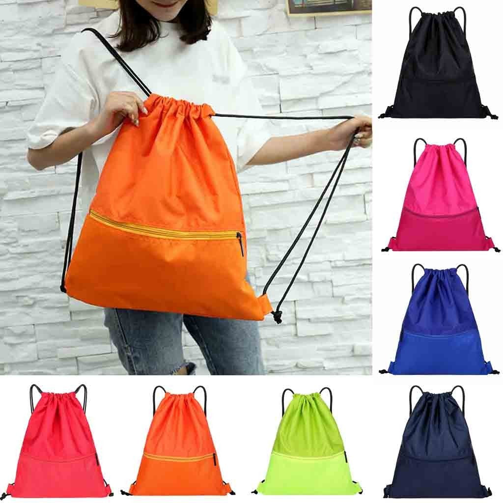 Outdoor Fitness & Beach Sport Bag with Drawstring