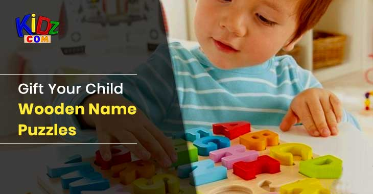 Gift Your Child Wooden Name Puzzles