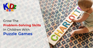 Grow The Problem-Solving Skills In Children With Puzzle Games
