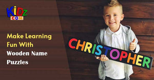 Make Learning Fun With Wooden Name Puzzles