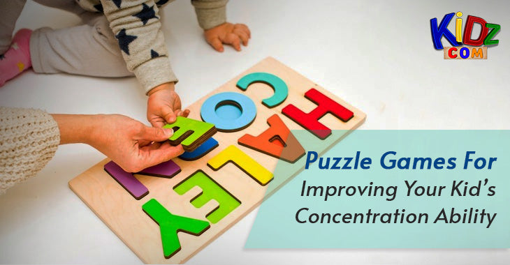 Puzzle Games For Improving Your Kid's Concentration Ability
