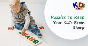 Puzzles To Keep Your Kid's Brain Sharp