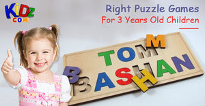Right Puzzle Games For 3 Years Old Children
