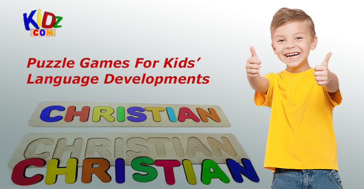 Puzzle Games For Kids' Language Developments