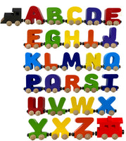 Build Your Name Letter Railroad Puzzle Includes Train & Wagon Free Choose Up To 12 Letters