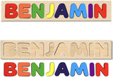 Custom Personalized Name Puzzle For Toddlers Kids Babies ages for 1 2 3 4 5 years old Choose up to 12 Letters