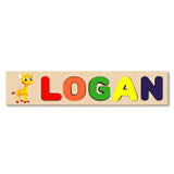 Wooden Name Puzzle With ANY PHOTO IMAGE OR CHARACTER -Choose Your Own Picture!