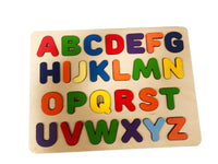 LARGE ABC BOARD Heavy Duty 1/2 Inch Baltic Birch- Handmade in U.S.A Kids Play & Furniture Decor Piece