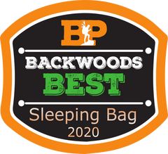 The Raven UL was named Backwoods' BEST Sleeping Bag in 2020