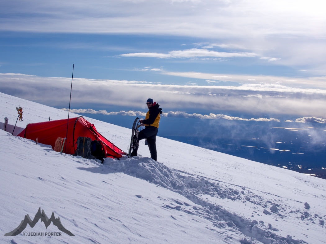 11,000 foot camp. Photo by Meagan Buck Porter.