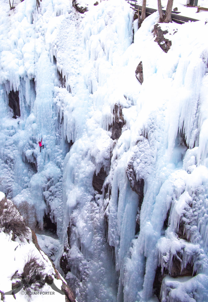 Jed Porter Ice Climbing Picture 3