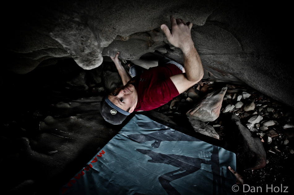 Day Frostenson takes on a a Larabee Cave V7