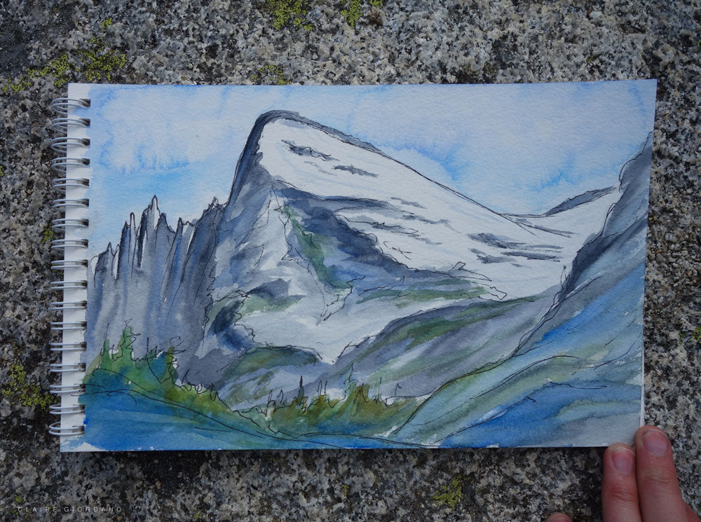 little annapurna sketch giordano