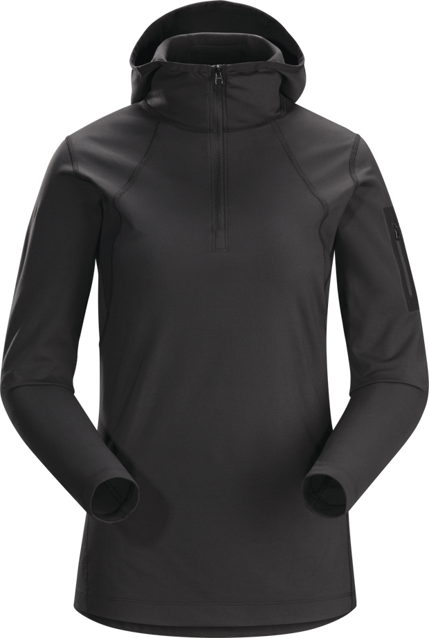 Rho LT Hooded Zip Neck Women's