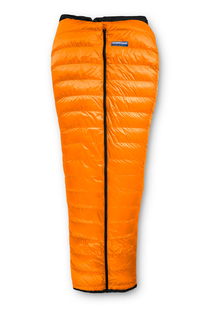 Feathered Friends Flicker UL Wide Quilt Sleeping Bag Tangerine
