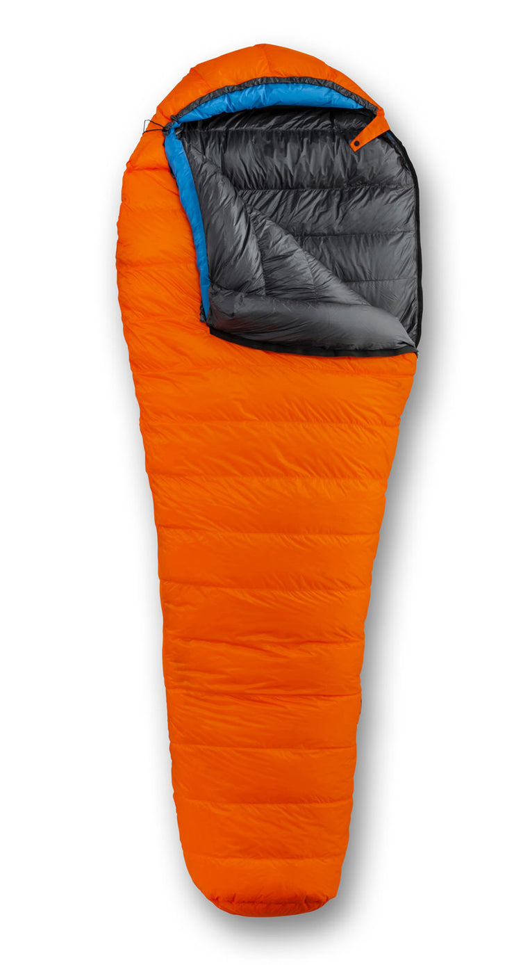 Feathered Friends Hummingbird UL 20/30 Ultralight Sleeping Bag Tangerine Orange