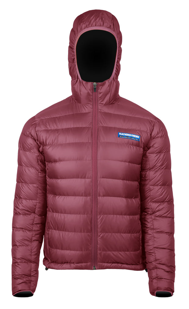 Feathered Friends Men's Eos Down Jacket Beet