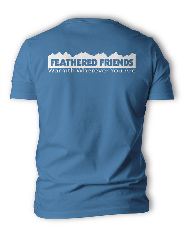 Feathered Friends Men's Classic Logo T Shirt