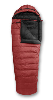 Feathered Friends Penguin YF Sleeping Bag Cardinal Red with optional hood