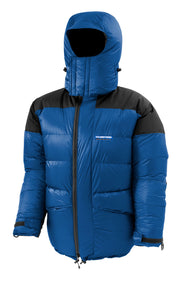 Feathered Friends Rock & Ice Expedition Down Parka Pacific Blue