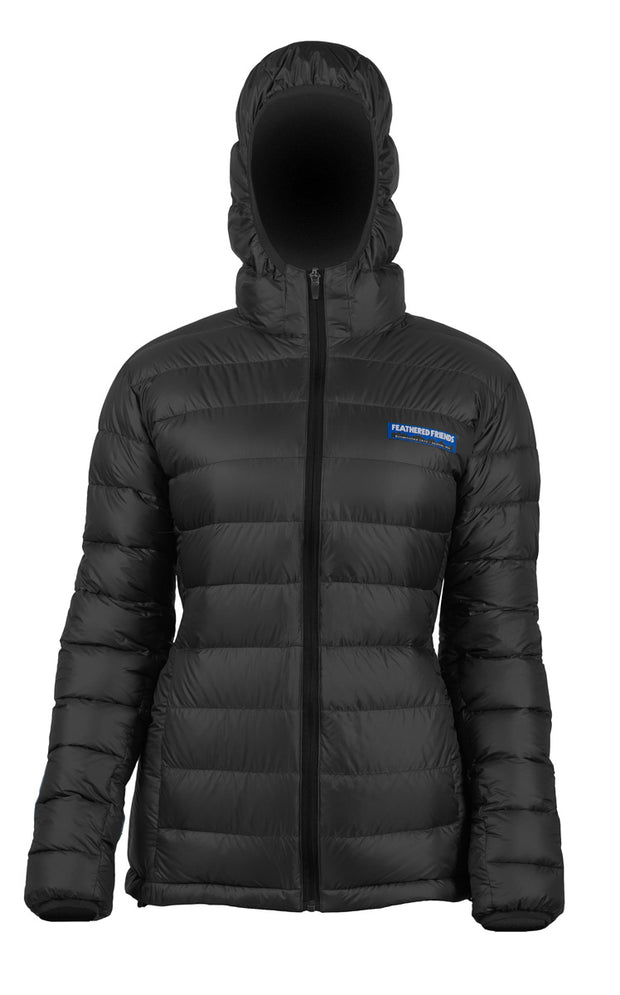 Feathered Friends Women's Eos Down Jacket Black