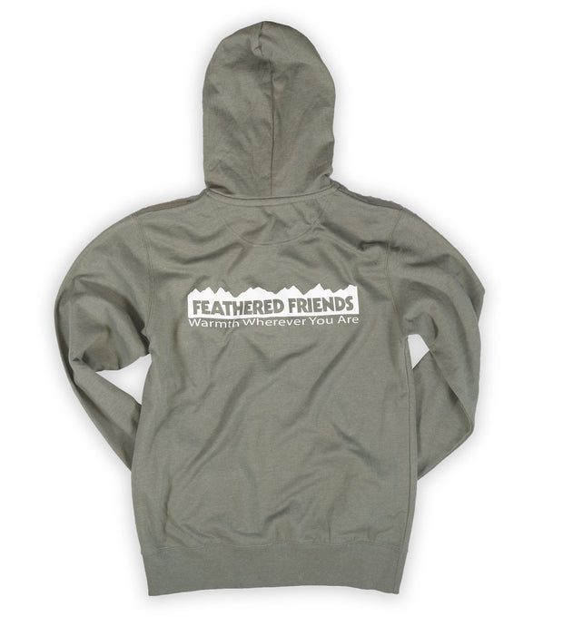 Feathered Friends Zippered Hooded Sweatshirt