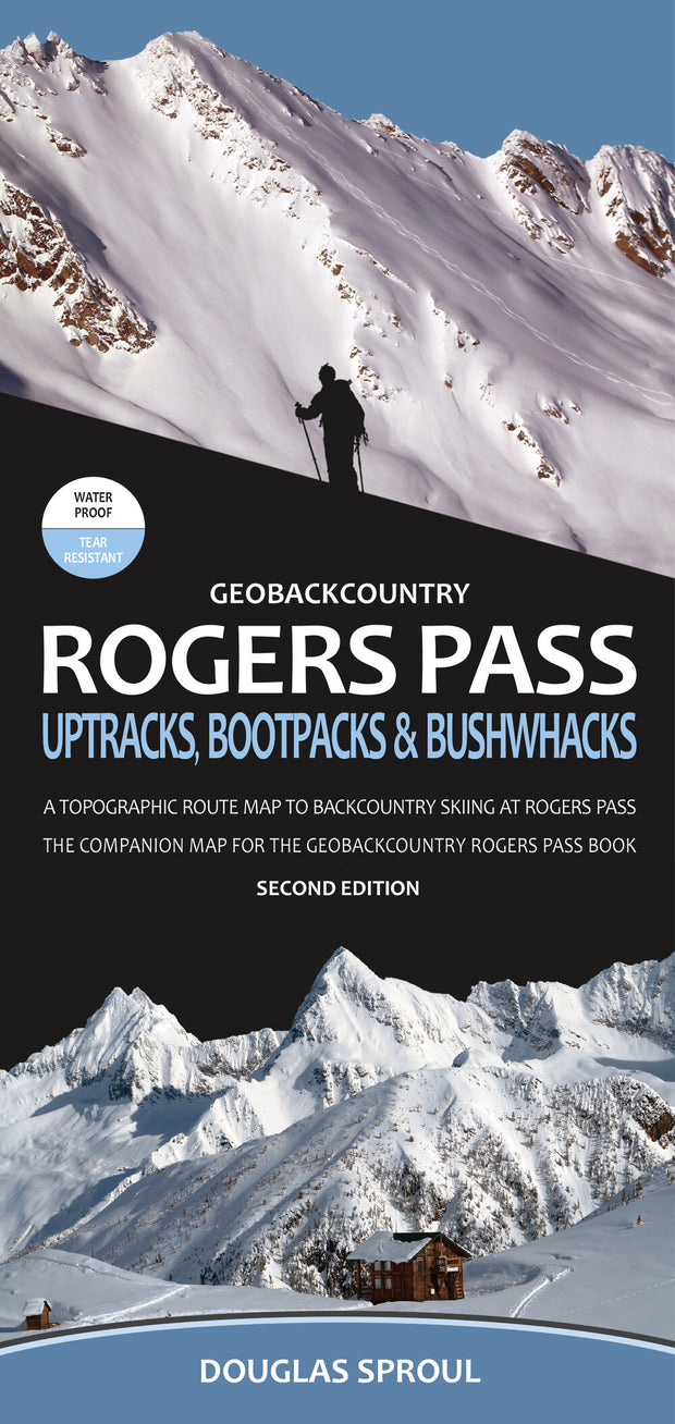 Rogers Pass Backcountry Ski Map