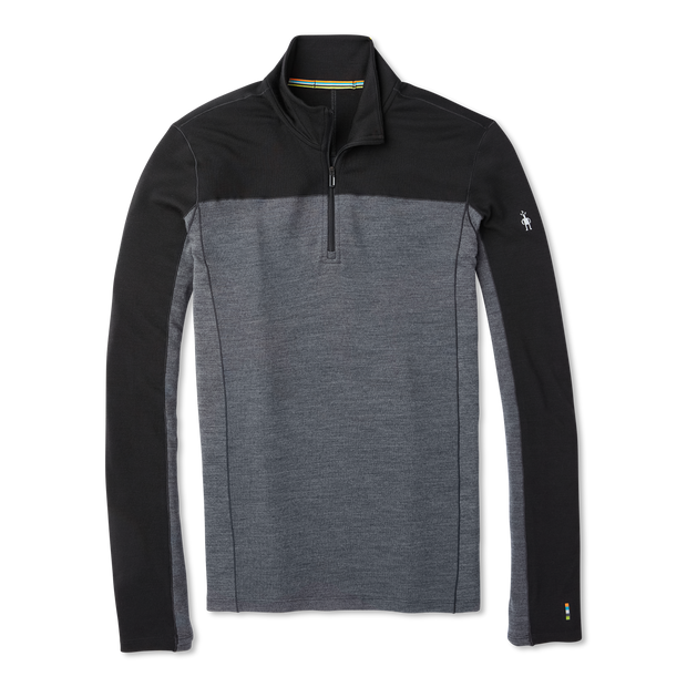 Merino Sport 250 Long Sleeve 1/4 Zip Black Men's