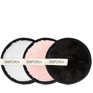 Emporia Makeup Remover Set, 3 Towel Pads + 1 Head band (4367772450929)