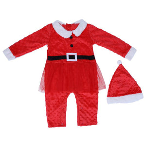 Baby Boys Girls Santa Claus Xmas
