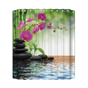 Animal Printed 3D Shower Curtain